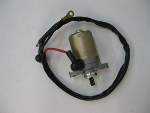 Starter for 2 stroke Chinese scooter has 9 splines