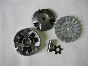Variator assembly for 50cc 2 stroke Chinese scooter