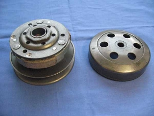 Clutch for 50cc 4 stroke Chinese scooter