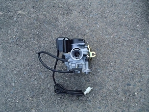 Kun Fu carburetor PDJ19 with 85 jet installed for 50cc 4 stroke Chinese scooters