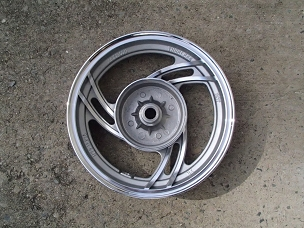Alloy rear wheel for Chinese scooter 10