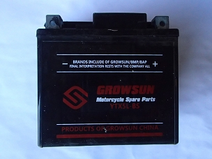 Battery for Chinese scooter YTX5L-BS.