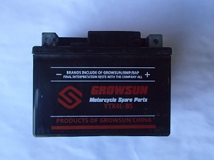 Battery for Chinese scooter YTX4L-BS