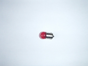 Turn signal bulb for Chinese scooter 12 volt 10 watt, red