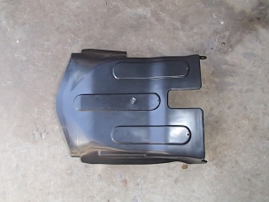 Under engine plastic panel for CHinese scooter