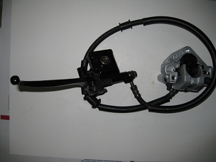 Hydraulic brake system for Chinese scooter