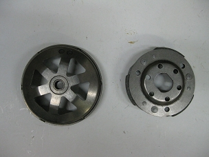 Clutch for 150cc Chinese scooter