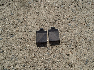 Disk brake pads for Chinese scooter, type E