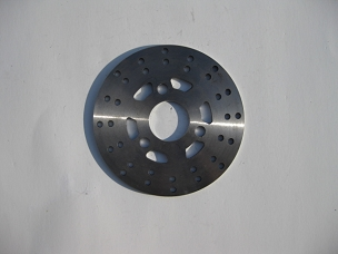 Disk brake rotor for Chinese scooter