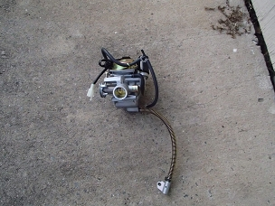 Kun Fu carburetor PDJ24 for 150cc Chinese scooters