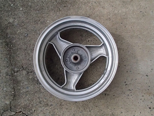 Alloy rear wheel for Chinese scooter 12