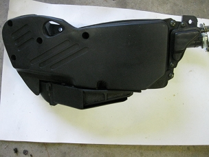Airbox with filter for 150cc Chinese scooter