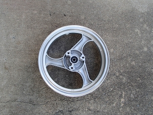 Alloy front wheel for Chinese scooter 12