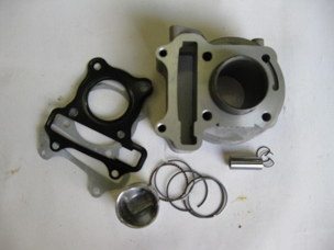 Cylinder kit for GY6 150cc engine