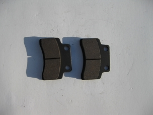 Disk brake pads for Chinese scooter, type B