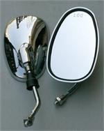 Chrome mirrors with for Chinese scooter