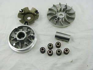 Variator assembly for 150cc Chinese scooter